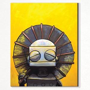 In the sun - Matt Q. Spangler Illustration