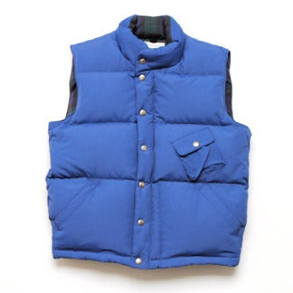 Image of thisisneverthat® Down Vest - BLUE