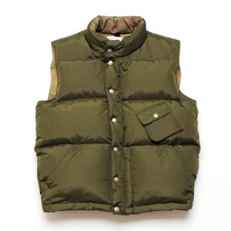 Image of thisisneverthat® Down Vest - OLIVE