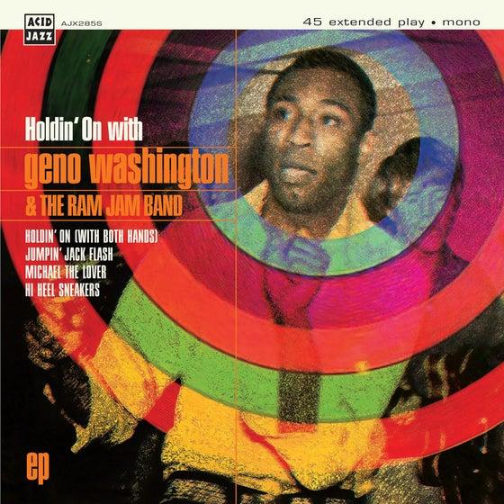 """Image of Geno Washington - Holdin' On With... 7"""""""
