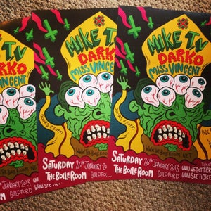 Image of Guildford Gig Posters by Russell Taysom.