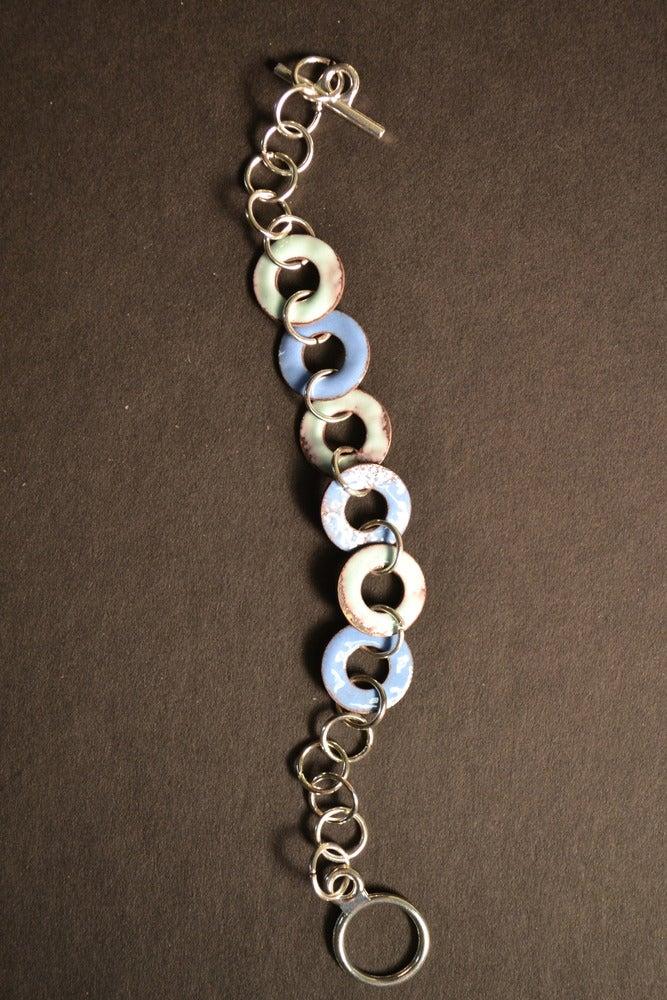 Image of Robin Egg and Bright Blue Bracelet