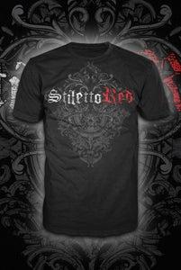 Image of Unisex Stiletto Red Logo T-shirt
