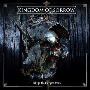 "Image of KINGDOM OF SORROW ""BEHIND THE BLACKEST TEARS"" LP ON 180 GRAM VINYL"
