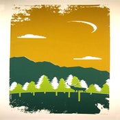 Image of Northwest Elk silkscreen print by Powerslide Design