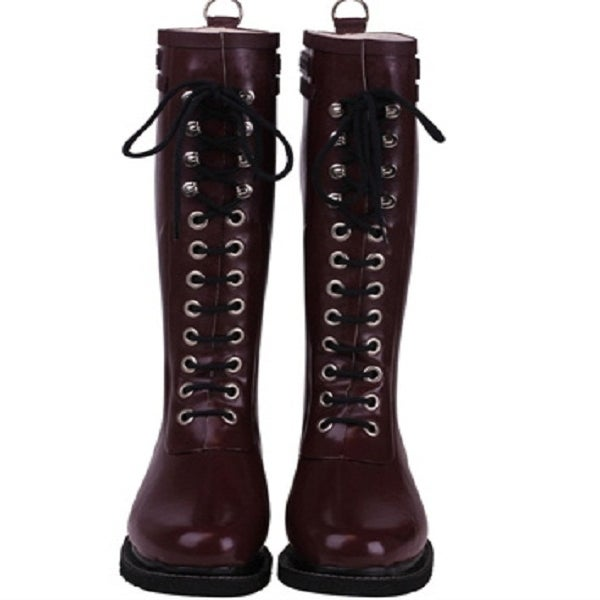 Image of  Ilse Jacobsen Rubber Boots - Tall, Rubino