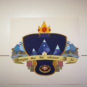 Image of Ice King Heraldic Shield