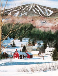 Image of Stratton, Vermont Notecard