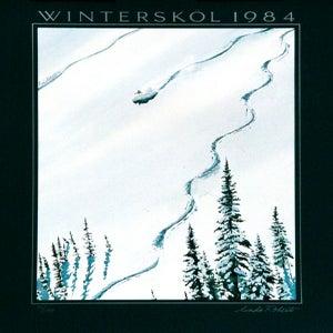 Image of 1984 Aspen Snowmass Winterskol Vintage Poster