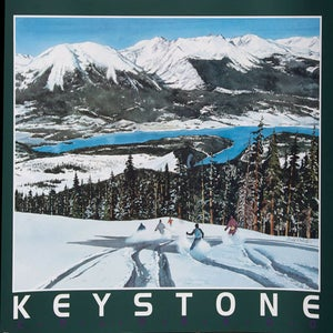Image of Keystone Colorado Poster & notecard