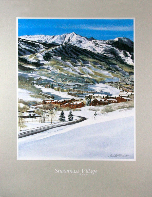 Image of Snowmass Village Poster