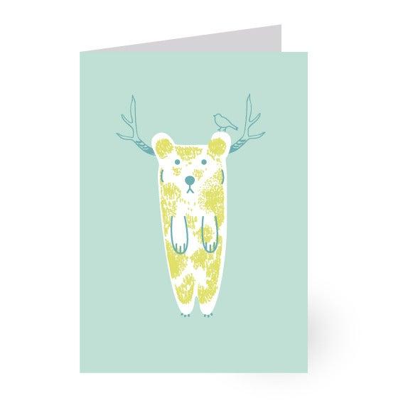 "Image of Carte à volet ""ours"""