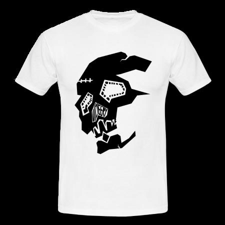 Image of Broken Skull Logo Tee