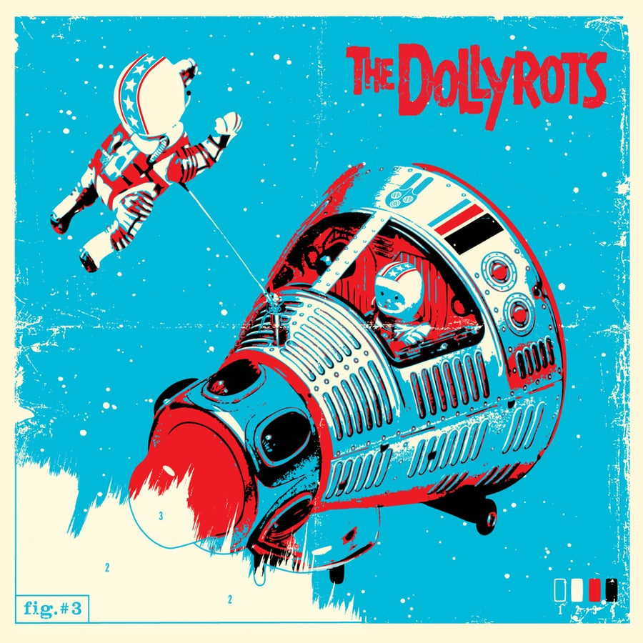 "Image of ""The Dollyrots"" CD"