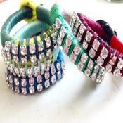 Image of Double Diamond Time Bracelet