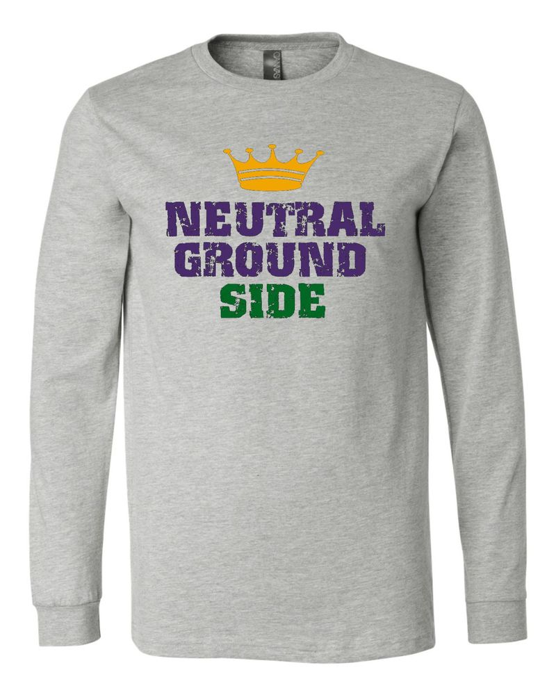 "Image of ""Neutral Ground Side"" Long Sleeve Tee"