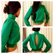 "Image of ""Green Crop top"""