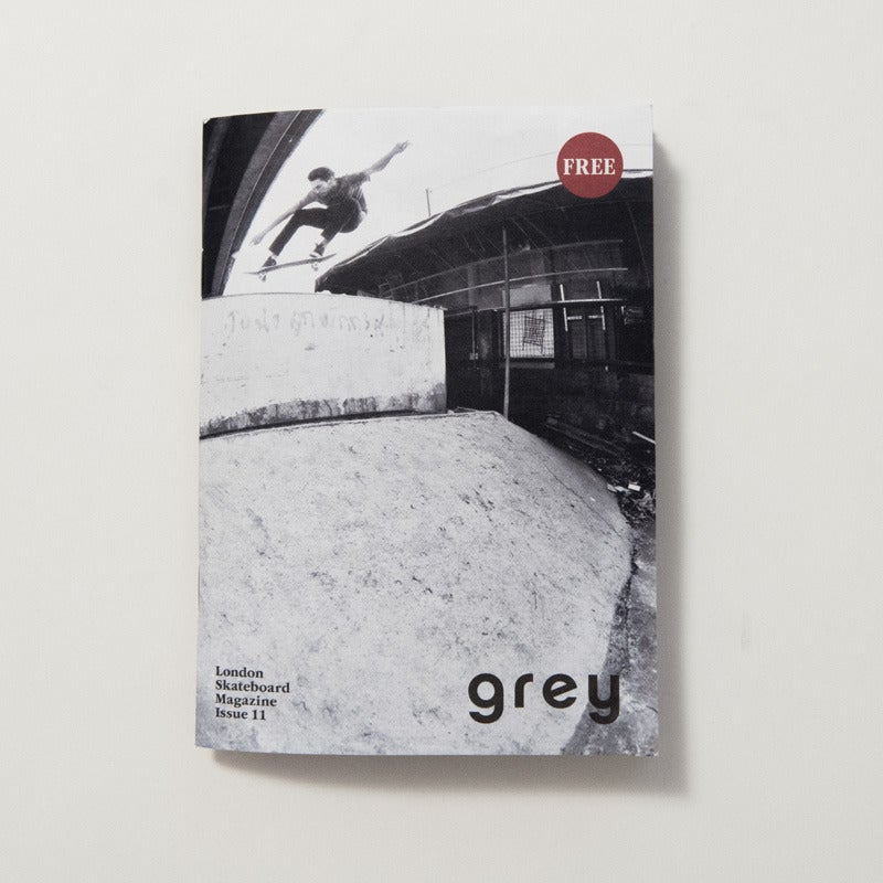 Image of grey skate mag issue 11