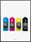 Image of PISA73: CMYK Fun Cans