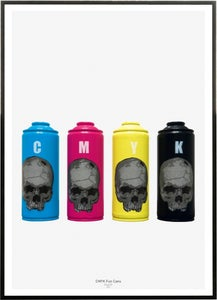 Image of PISA73: CMYK Fun Cans