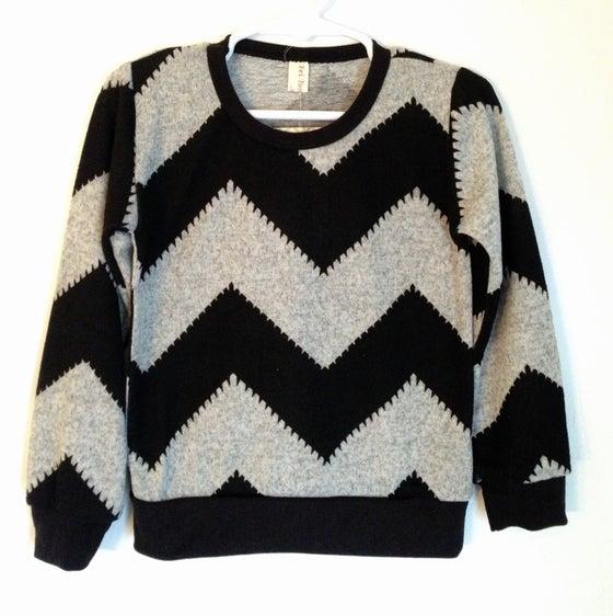 Image of Chevron Sweater