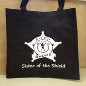 "Image of BwaB ""Sister of the Shield"" Tote Bag"