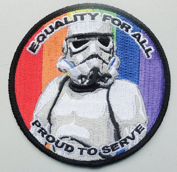 Image of Equality TK Stormtrooper Patch 3.5""