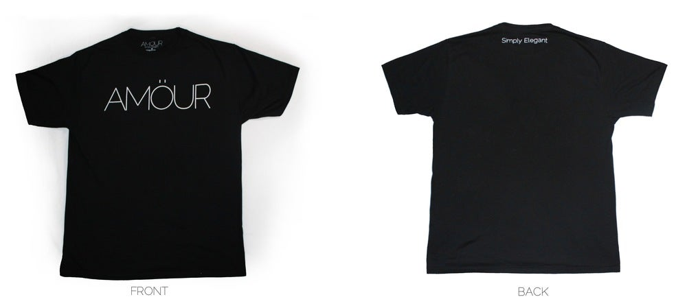 Image of AMÖUR Tee  GOLD