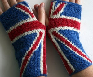 Image of anarchy in the UK handwarmers - PDF Pattern