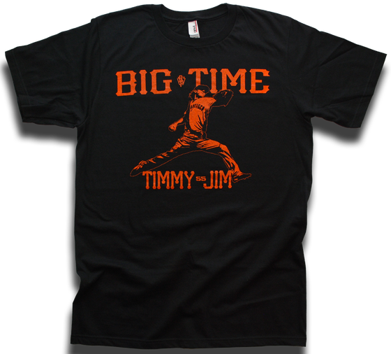 "Image of ""Big Time Timmy Jim"" tee by Backpage Press"