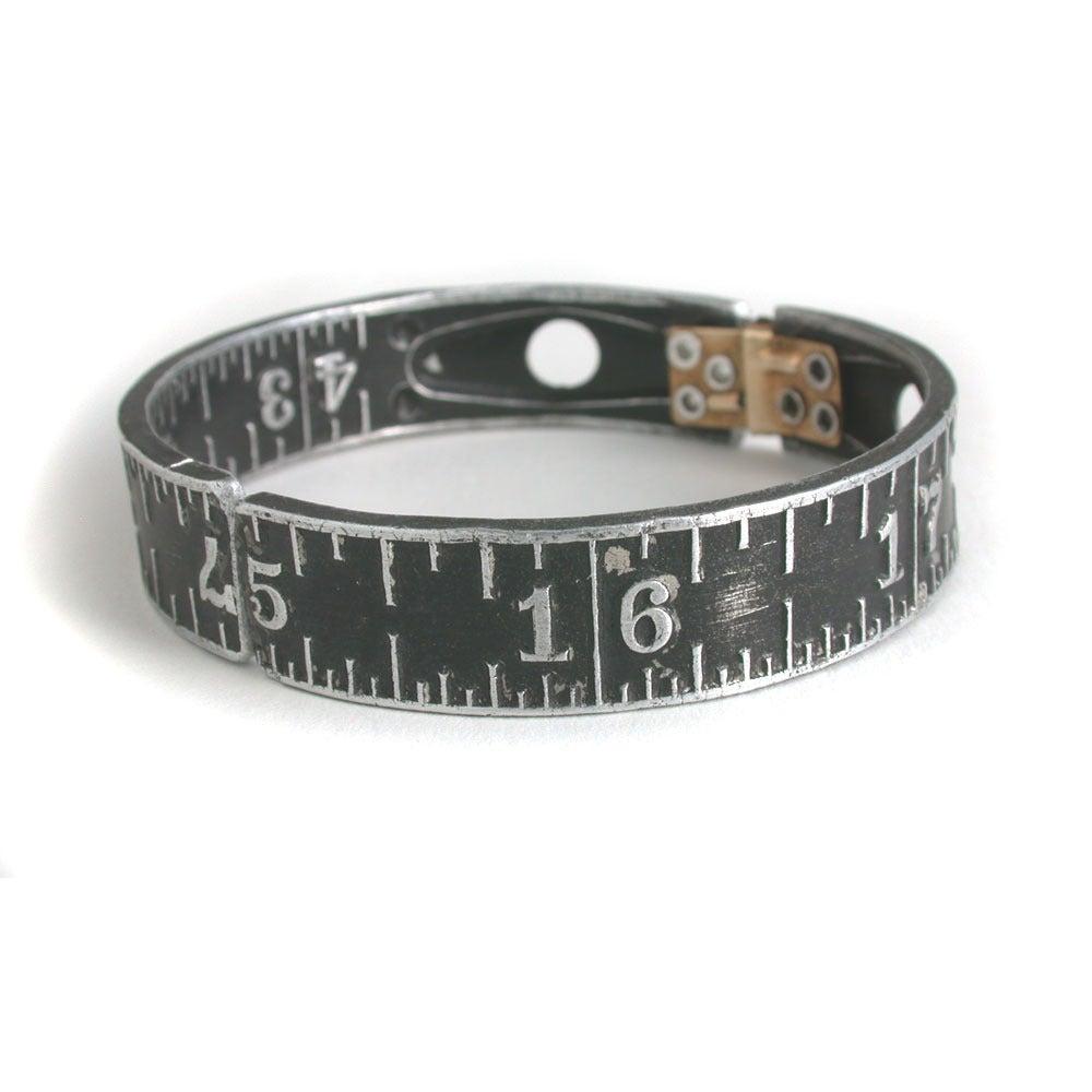 Image of black ruler bangle