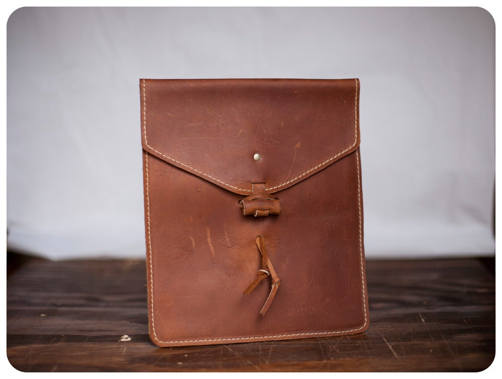 Image of iPad Envelope Sleeve - Whiskey Tan