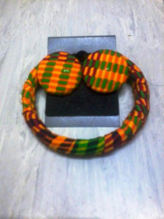 Image of Vibrant Kente Matching Set