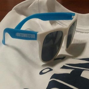Image of Winter White Tour Sunglasses