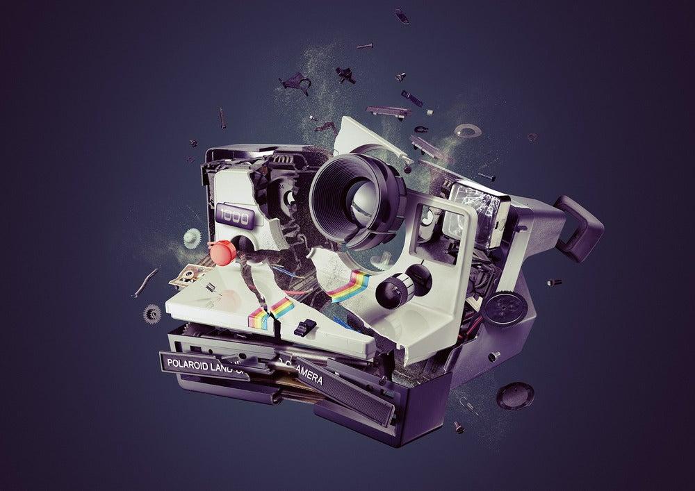 "Image of Polaroid ""Onestep"" 1000"