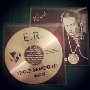 """Image of AUTOGRAPHED """"Year Of The Vagabond"""" CD"""
