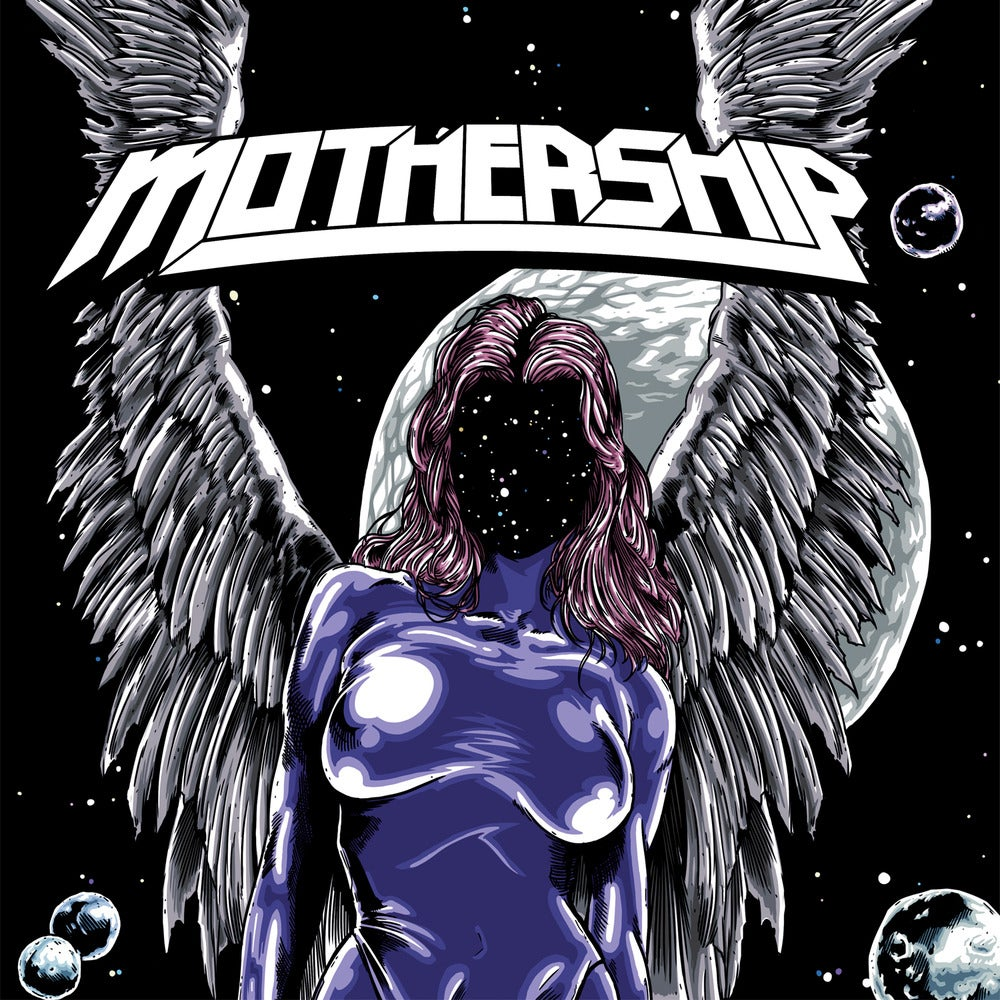 Image of Mothership - Mothership (LP) Black Vinyl LP