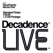 Image of Decadence Live Saturday 2nd March 2013
