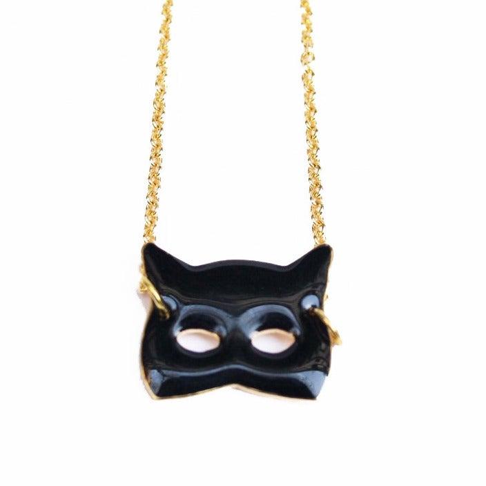 Collier Masque chat - Félicie Aussi