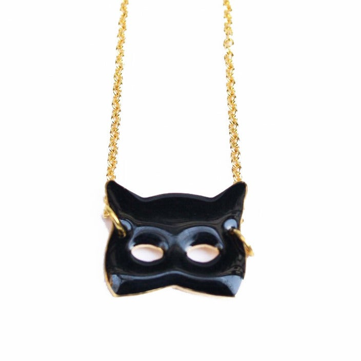 Collier Masque chat - Félicie Aussi