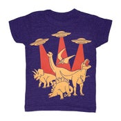 Image of Dinos Vs Aliens | KIDS TEE