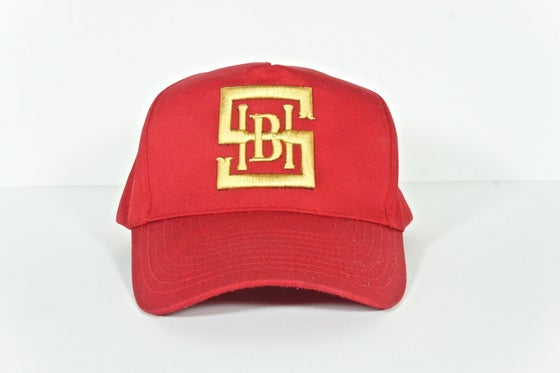Image of Red & Gold Snapback