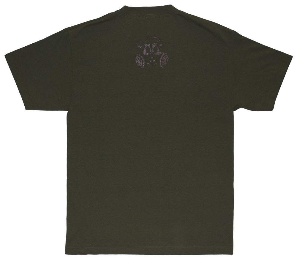 Image of Camo Bold Tee   Army Green