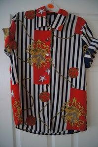Image of Chain print vintage shirt