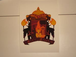 Image of Fire Kingdom Heraldic Shield
