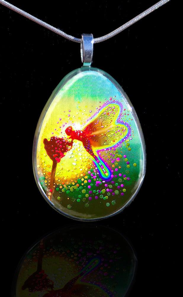 Image of Dragon Fairy Pendant - Projecting stunning elemental energies