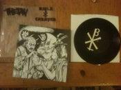 """Image of 7"""" VINYL split with Thetan"""