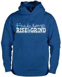 Image of Rise & Grind Hoodie (Blue)