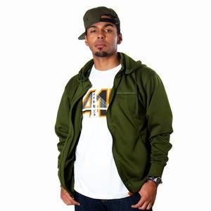 Image of Olive Track Jacket