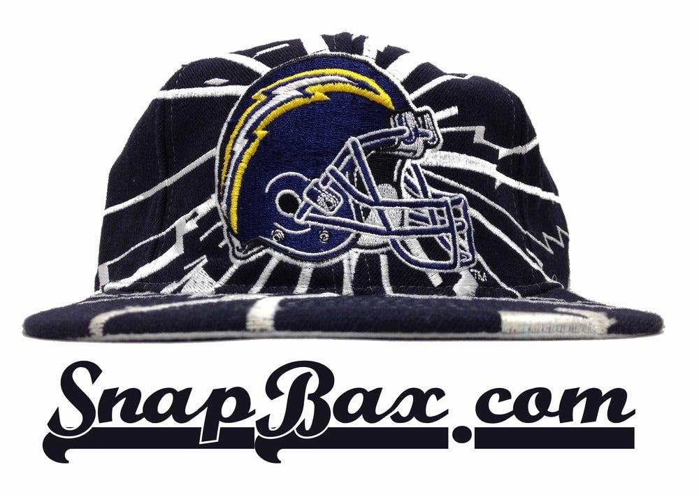 Image of Vintage Deadstock San Diego Chargers Starter Collision Snapback Hat Cap